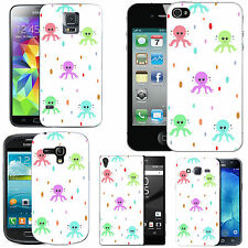 motif case cover for various Mobile phones - multi octupus droplet