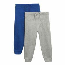 Bluezoo Kids Pack Of Two Boys' Blue And Grey Joggers From Debenhams