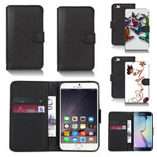 pu leather wallet case cover for many mobiles design ref q25