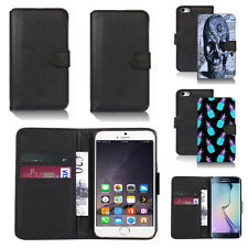 pu leather wallet case cover for apple iphone models design ref q45