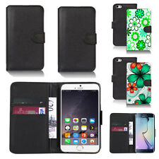pu leather wallet case cover for many mobiles design ref q172