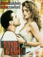 Fair Game DVD William Baldwin Cindy Crawford New Sealed Original UK Release R2