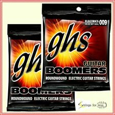 2 Sets GHS GBXL Guitar Boomers Roundwound Electric Guitar Strings 9 - 42