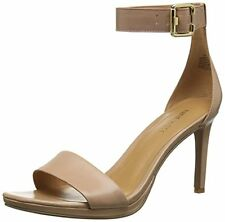 Nine West MEANTOBE Leather Womens Meantobe Heeled Sandal- Choose SZ/Color.