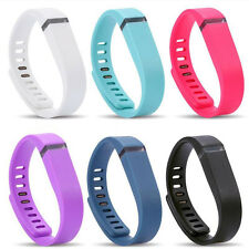 L/S Size Replacement Wrist Band w/h Clasp For Fitbit Flex Bracelet(No Tracker)