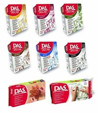 DAS Air Drying Modelling Clay & Idea Mix Set Create a Marble Marbling Effect