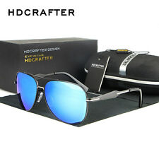 Mens Fashion Polarized Driving Brand Designer Sunglasses Glasses Goggles Shades