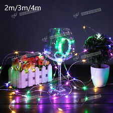 Hot 20/30/40 PCS Led Battery Fairy String Light Xmas Wedding Decor With 4 Colour