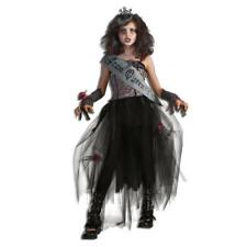 Costume Goth Prom Queen Size S - L Fancy Dress Halloween Zombie Princess