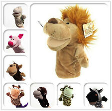 Animal Wildlife Hand Glove Puppet Soft Plush Puppets Kid Childrens Toy Funny JS