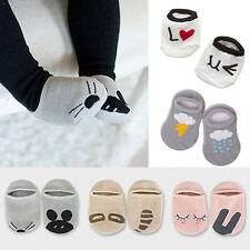 New Hot Baby Newborn Infant Floor Sock Boys Girls Kids Rabbit Bear Cotton Socks