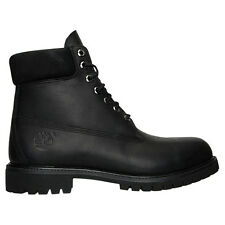 Timberland Men's 6 Inch Premium Waterproof Leather Classic Boots Shoes Black