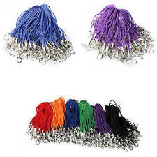 100×Mobile Cell Phone cords Strap Lariat Lanyard Lobster Clasp Assorted Color
