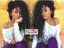 Best Curly Human Hair Lace Front Wigs Black Women Indian Remy Glueless Full Wig