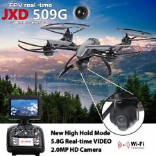 FPV 2.4Ghz 4CH RC JXD509 6-Axis Quadcopter Drone with 2MP HD Camera RTF UFO UAV