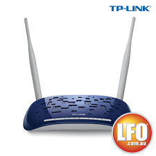 NEW TP-LINK (TD-W8960N) Wireless N300 ADSL2+ Modem Router  NBN Ready