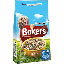 Bakers Adult Dry Dog Food Tasty Chicken and Country Vegetables 14 kg