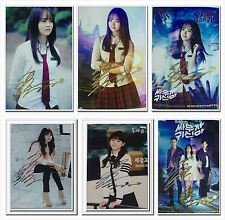 Signed Kim So Hyun Ok Taec Yeon in-album Let's Fight Ghost Photo Hand Autograph