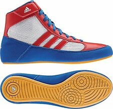 Adidas HVC 2 Youth Kids Wrestling Shoes AQ3326 Red/White/Blue