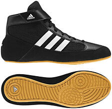 Adidas HVC 2 Youth Kids Wrestling Shoes AQ3327 Black/White/Gum Brand NEW! NIB