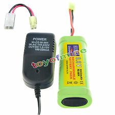 1X9.6V 2800mAh Ni-MH rechargeable battery pack NEW+charger