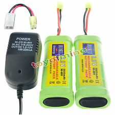 2X9.6V 2800mAh Ni-MH rechargeable battery pack NEW+charger