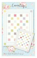 "Moda Fabrics - Coventry Quilt Kit using Fleurs fabric by Brenda Riddle 61"" x 73"""
