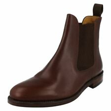 Mens Loake Brown Ankle Boots Style - Hickstead