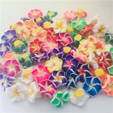 Wholesale!Pretty Mixed Polymer Fimo Clay Flower Spacer Loose Beads 12/15/20/30mm