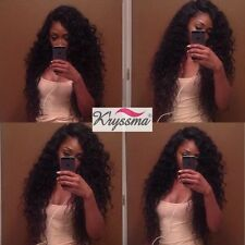 Curly Brazilian Remy Human Hair Lace Front&Full Lace Wigs Clueless Full Wig 150%