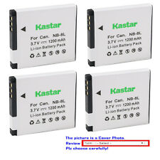 Kastar Battery NB8L for Canon NB-8L  PowerShot A2200 A3000IS A3100IS A3200IS