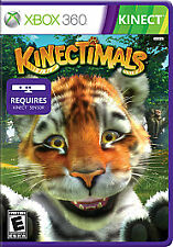 Kinectimals (Microsoft Xbox 360, 2010) NO COVER, only game and manual