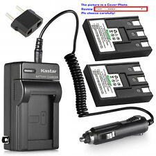 Kastar Battery and Normal Charger Kit for Canon NB-3L PowerShot SD500 SD550 IXUS