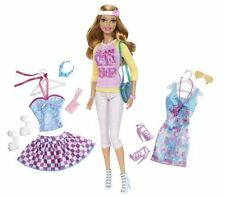 Barbie Doll and Fashion Summer Doll Giftset toy