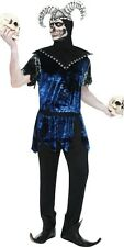 NEW Smiffys Adult Male Corrupt Court Jester Scary Halloween Mens Costume sz M/L