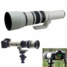 500mm f/6.3 Telephoto Lens for Canon Nikon Sony NEX Pentax Panasonic M4/3 Camera