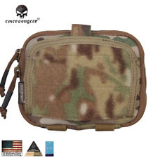 Emerson ADMIN Multi-purpose Map Bag Pouch Airsoft Gear Tactical MC CB FG EM8506