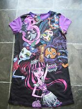 BNWT Girl's Monster High Cotton Knit Summer Nightie Sizes 8 & 14
