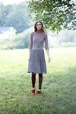 NEW Anthropologie Knitted & Knotted Test Pattern Sweater Dress XS S M