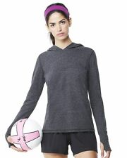 Alo Ladies' Triblend Long Sleeve Hooded Pullover