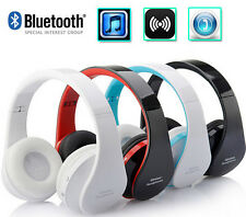 Wireless Bluetooth Headphones Earphone Headset  with Mic Microphone for iPhone