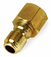 "(4) General Pump Pressure Washer 3/8"" Female NPT-F Quick Connect Plug 4000 PSI"