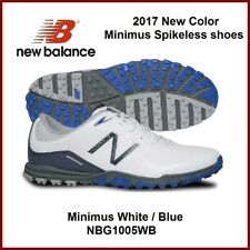 2017 New Balance Men's Golf Shoes 1005 Minimus White Blue Spikeless shoes $150