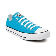 NEW Converse Chuck Taylor All Star Lo Neon Sneaker Vivid Blue Womens Shoes