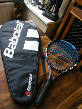 Kids Boys Girls Babolat Roddick Junior 145 Tennis Racket with Cover Case