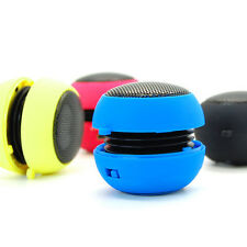 Portable USB 3.5mm Stereo Mini Hamburger Speaker For Tablet Cell Phone PC Laptop