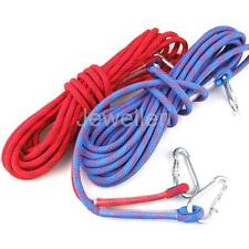 25KN 12mm 10M Rock Tree Climbing Auxiliary Rope Sling Rappelling Cord Equipment