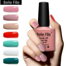 BELLE FILLE Soak Off Nail Gel Polish UV&LED Nail Art Manicure 79 Color Varnish