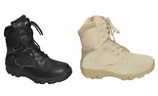 Army Combat Boots Delta Force Boots Boots with BW Zip Combat Boots