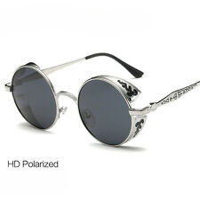 Punk Vintage Women Polarized Sunglasses Round Sports Eyewear Shades SUN Glasses